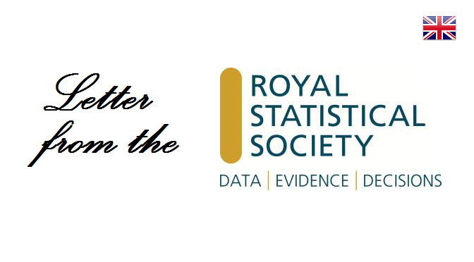 Letter from the Royal Statistical Society
